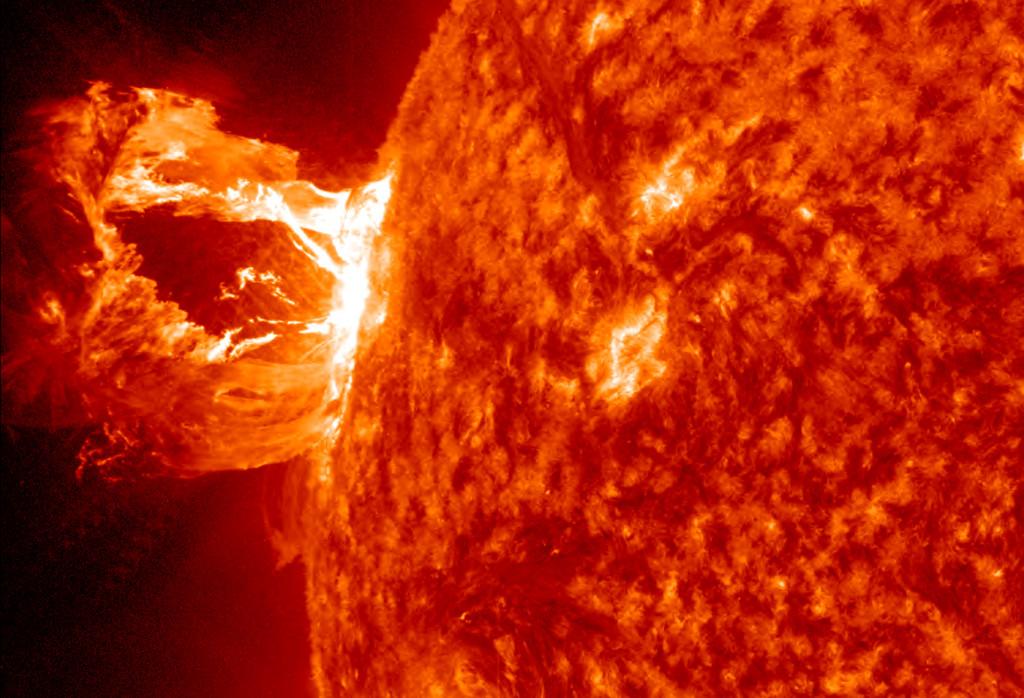 Solstorm. Foto: NASA/SDO/AIA